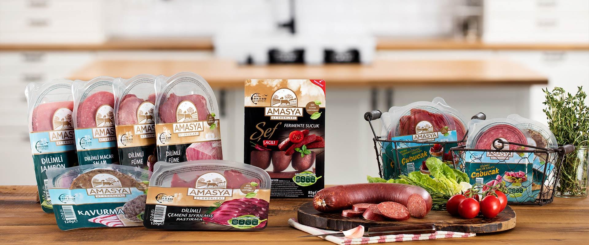 Şarküteri lezzetleri şimdi avantajlı paketlerinde...